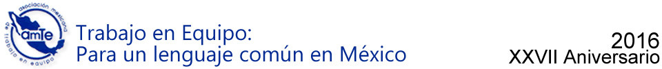 AMTE – Asociación Mexicana de Trabajo en Equipo A.C.